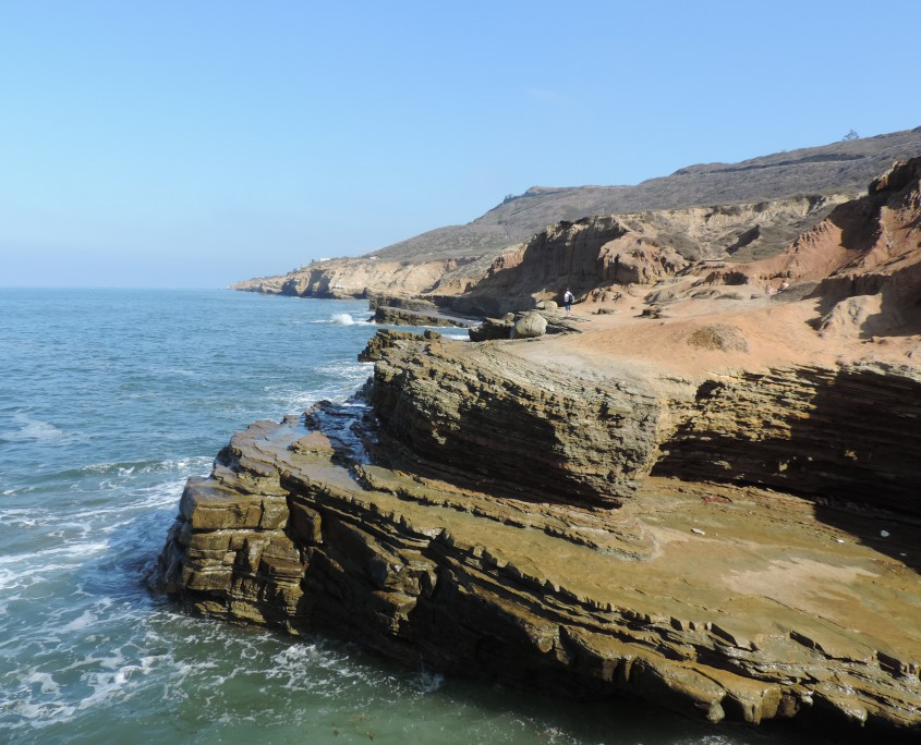 Cretaceous fore-arc sediments at Point Loma, California.